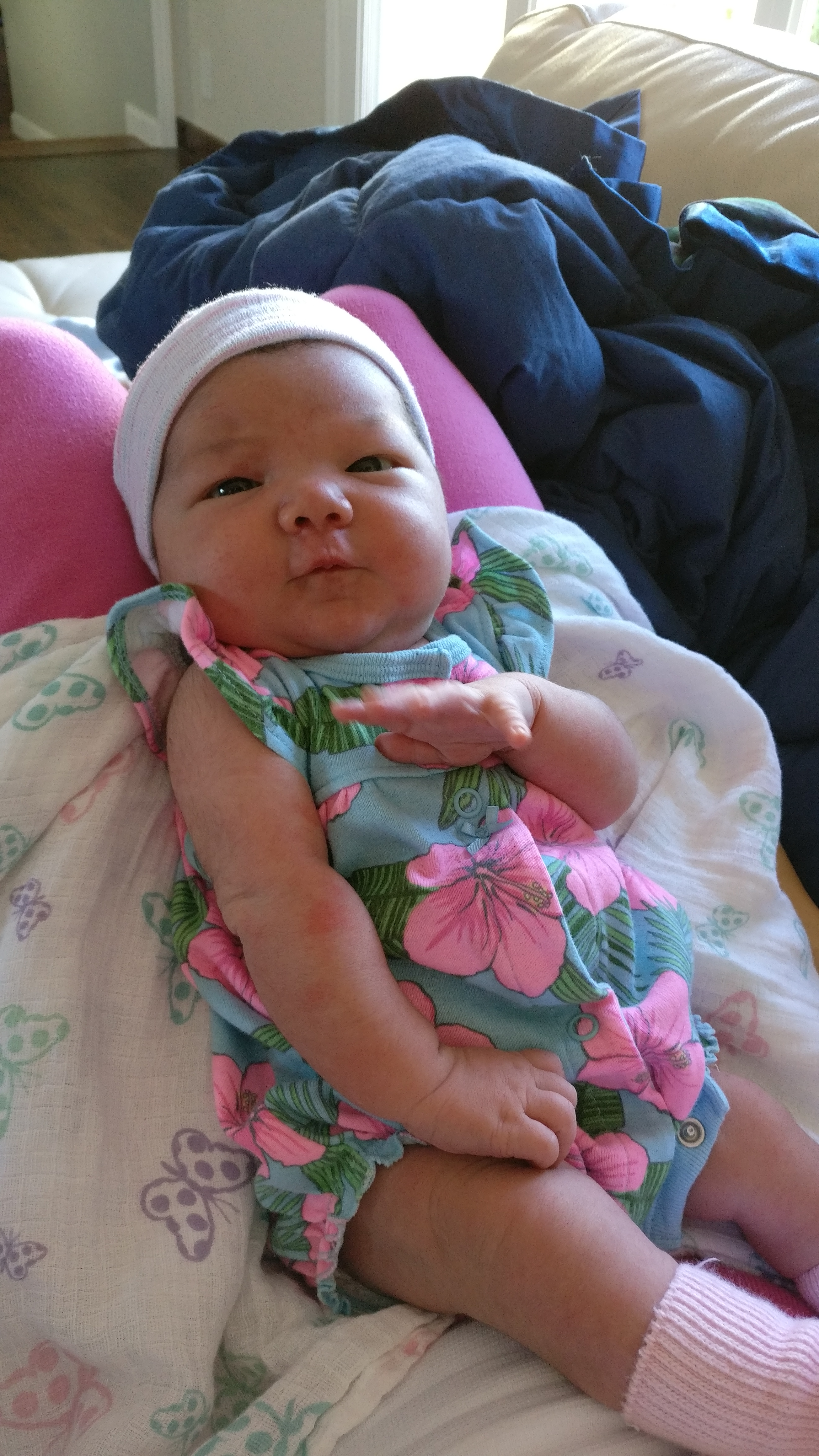 Baby Eliora Fisher-Kirshner in 2016